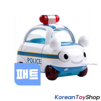 Tayo Little Bus PAT Model Cute Mini Diecast Metal Bus Toy Patrol Car