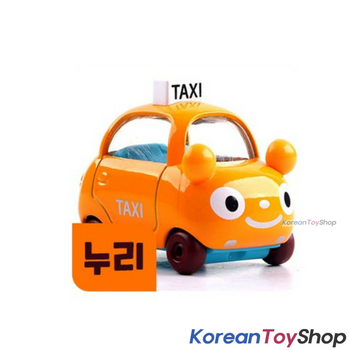 Tayo Little Bus NURI Model Cute Mini Diecast Metal Bus Toy Yellow