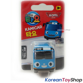 Tayo Little Bus Tayo & Friends 9 pcs Cute Mini Diecast Metal Bus Toy Set