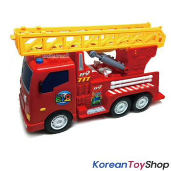 Little Bus Tayo BIG FRANK Model Fire Engine Ladder Truck Sound Effect Friction