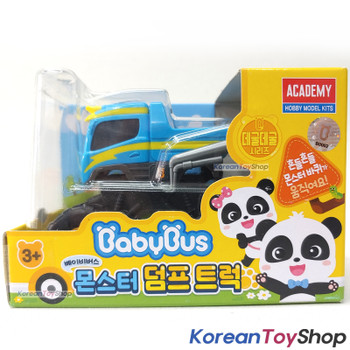 BabyBus Panda Monster DUMP TRUCK Toy Car Free Wheels Academy Authentic 100%
