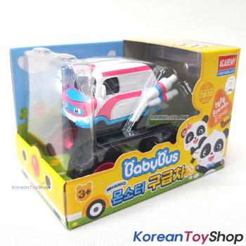 BabyBus Panda Monster AMBULANCE Toy Car Free Wheels Academy Authentic 100%