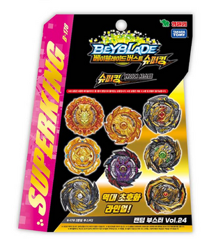 Beyblade Burst B-178 Random Booster Vol.24 Superking Takara Tomy 100% Authentic
