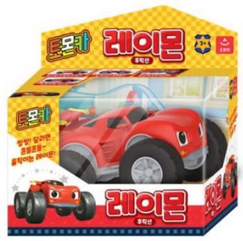 Tomoncar RAYMON Friction Series Toy Mini Car Red Tomon Car Middle Size