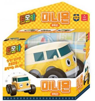 Tomoncar MINIMON Friction Series Toy Mini Car Yellow Tomon Car Middle Size