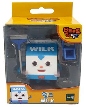 Bread Barbershop WILK Toy Figure Korean Animation Authentic Toytron