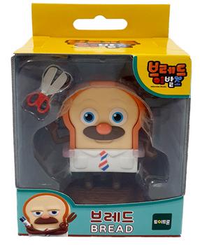 Bread Barbershop BREAD Toy Figure Korean Animation Authentic Toytron