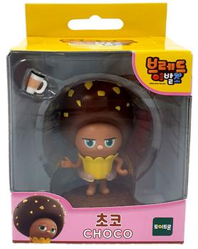 Bread Barbershop CHOCO Toy Figure Korean Animation Authentic Toytron