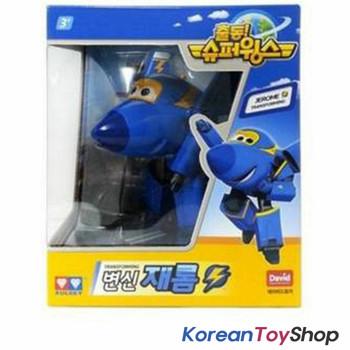 Super Wings JEROME Transformer Robot Toy Airplane Plane Korean Animation
