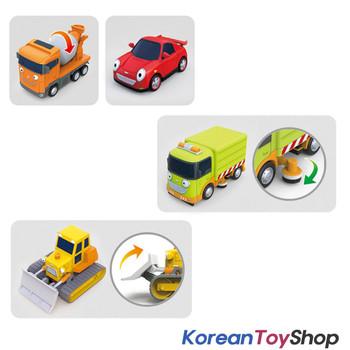 00140 TAYO Little Bus Friends Special V.3 Mini Car 4 pcs Set Toy Ruby Speedy Chris Billy NEW