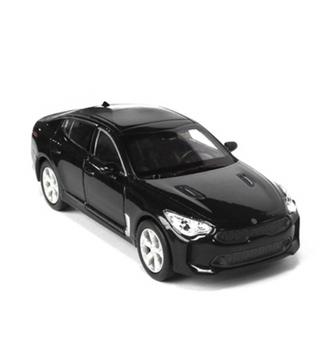 Kia Motors Stinger Diecast Mini Car Toy 1:38 Miniature Model BLACK