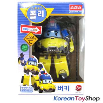 Robocar Poli BUCKY Transformer Robot Car Toy Action Figure Buggy Academy Genuine