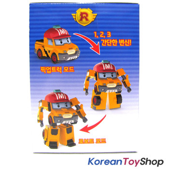 Robocar Poli MARK Transformer Robot Car Toy Action Figure Pickup Truck Genuine