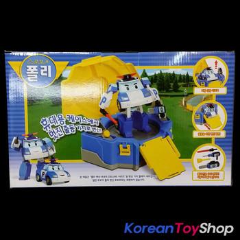 Robocar Poli Transformer Deluxe Model + Garage Carrier Set