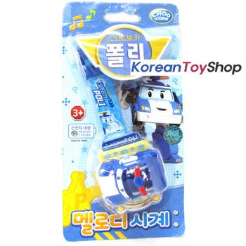 Robocar POLI Melody Watch Wrist Band Toy w/ Figure Kids Children Korean Ani