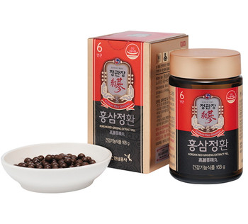 Korean Red Ginseng Extract Pill Set 168g X 2ea, Cheong Kwan Jang