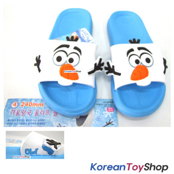 Disney Frozen Olaf Character Cute Slippers EVA Shoes 240mm Light & Good Cushion