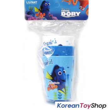 Disney Finding DORY Nemo Plastic 3 pcs Cup Set 180ml Light Strong Cups Korea