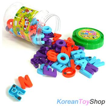 Magnetic Letters Jar 3 Set - Alphabet Upper Case / Lower Case / Numbers in 3 Jar