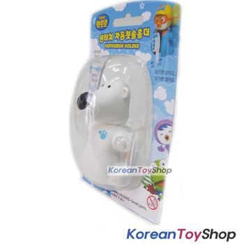 Pororo Flipper Toothbrush Holder Pororo Model Mirror Suction Holder Pobi Model