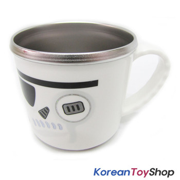 Star Wars Stainless Steel Handle Cup w/ Non Slip Pads BPA Free Made in Korea