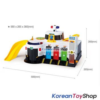 01050 - Tayo Little Bus Emergency Rescue Center Headquarter Main Garage Play Set Toy