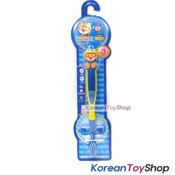 Pororo Figure Toothbrush - Pororo Model 3 years+ Made in Korea
