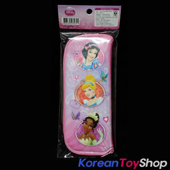 Disney Princess Character Dining Tool Case with Zipper for Spoon Fork Chopsticks