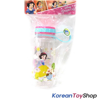 Disney Princess Snow White Tritan Water Bottle w/ Handle BPA Free Made in Korea