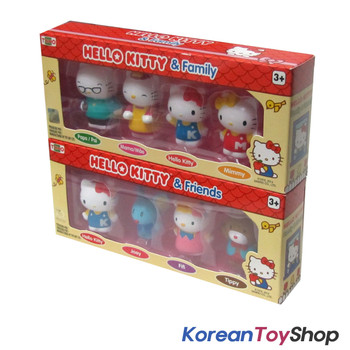 Hello Kitty Family & Friends 8 pcs Figure Set Toy