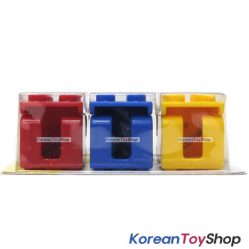 Oxford Brick Block Toothbrush Holder 3 pcs Set /w Suction Kids Children Family