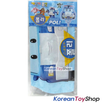 Robocar Poli Balloon w/ Stick Birthday Picnic Party Supplies - POLI Model