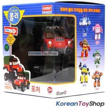 Robocar Poli POACHER Transformer Robot Car Toy Action Figure Academy Genuine