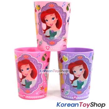 Disney Princess Snow White Cinderella Little Mermaid Plastic Cup 3 pcs Set Cups