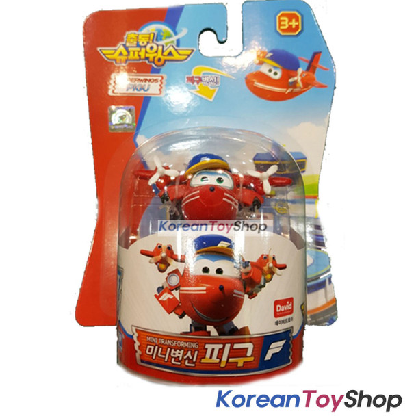 Super Wings Mini PIGU Transformer Robot Toy Season 2 New Character