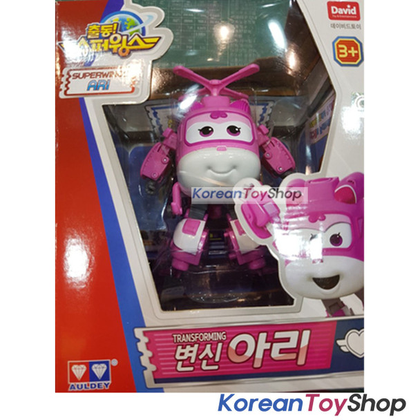 Super Wings DIZZY / ARI Transformer Robot Toy Season 2 New Version