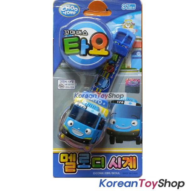 TAYO Melody Watch BLUE Wrist Band Toy w/ Figure Kids Children Korean Ani