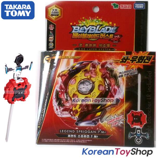 BeyBlade Burst B-86 Legend Spriggan.7.Mr w/ Launcher Takara Tomy Original BOX