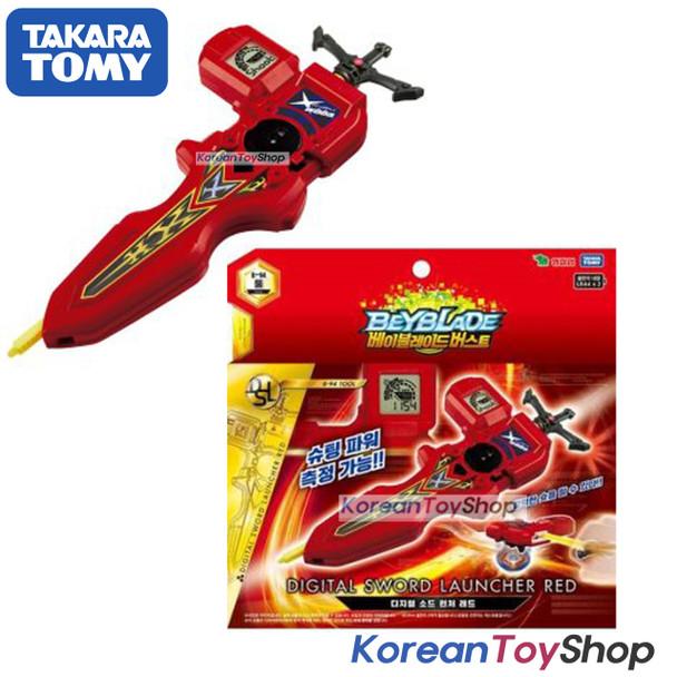 Beyblade Burst B-94 Digital Sword Launcher RED with Sword Winder Takara Tomy Original BOX