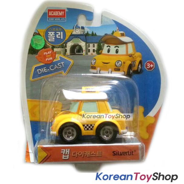 Robocar Poli CAP Diecast Metal Figure Toy Car Taxi Academy Genuine