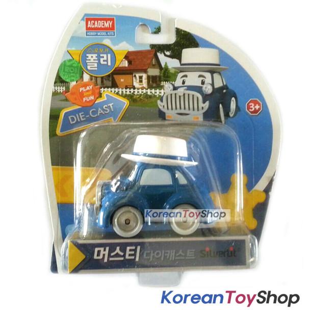 Robocar Poli MUSTY Diecast Metal Figure Toy Car Classic Car Academy Genuine