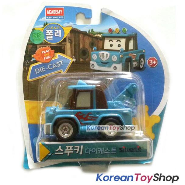 Robocar Poli SPOOKY Diecast Metal Figure Toy Car Tow Truck Academy Genuine