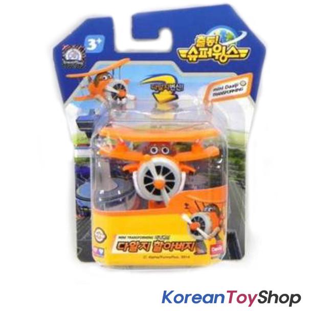 Super Wings Mini Transformer Robot Toy DAALJI / Grand Albert Old Airplane Korean