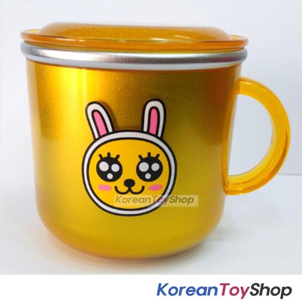 KAKAO Friends MUZI Stainless Steel Cup w/ Lid,Non slip Anti Slip Pads BPA Free