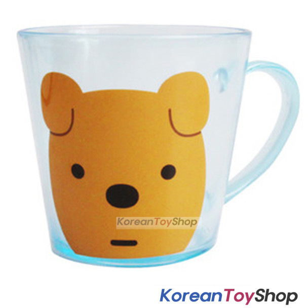 KAKAO Friends FRODO Plastic Cup with Handle Water Cup 230ml Toothbrush Cup Korea