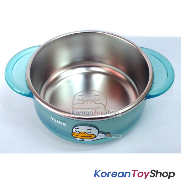 KAKAO Friends TUBE Stainless Steel Small Bowl Handle Non-slip BPA Free Original