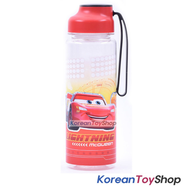 Disney Pixar Cars 3 Picnic Silicone Handle Water Bottle 500ml Original BPA Free