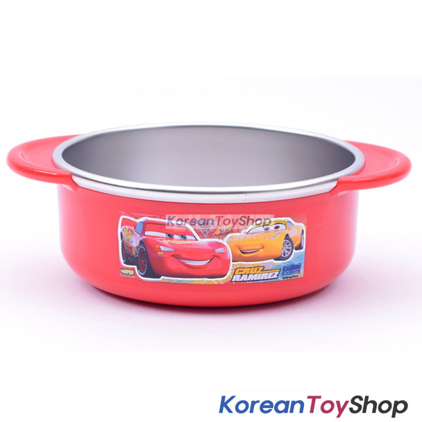 Disney Pixar Cars 3 Stainless Steel 350ml Bowl Handle Non-slip BPA Free Original