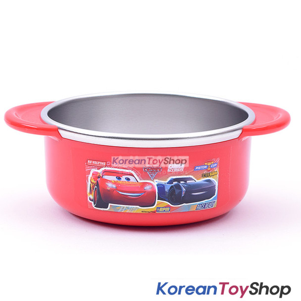 Disney Pixar Cars 3 Stainless Steel Small Bowl Handle Non-slip BPA Free Original
