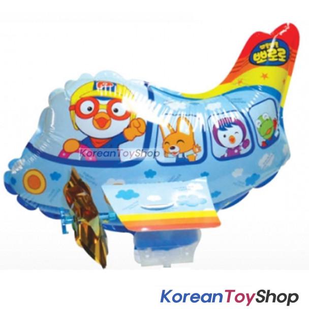 Pororo Balloon w/ Stick Birthday Picnic Party Supplies - Pororo Air Plane model